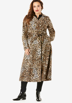Essential Trench Coat, CLASSIC ANIMAL