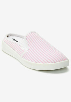 The Camellia Sneaker by Comfortview®, PINK STRIPE