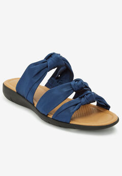 The Blythe Sandal by Comfortview®, NAVY