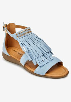 The Carmella Sandal , BLUE CLOUD