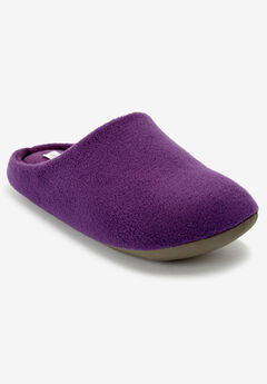 The Carita Clog Slipper by Comfortview®, RICH VIOLET