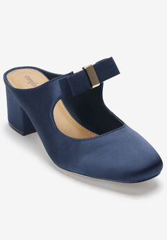 The Candice Mule by Comfortview®, NAVY