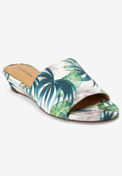 The Capri Mule by Comfortview®, GREEN LEAF