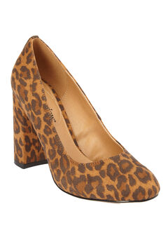 The Camile Pump by Comfortview®, ANIMAL