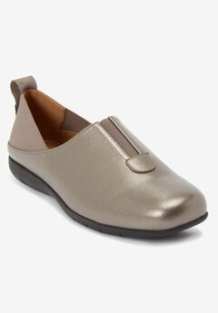 The Adira Flat by Comfortview®, GUNMETAL