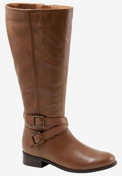 Liberty Wide Calf Boot by Trotters,