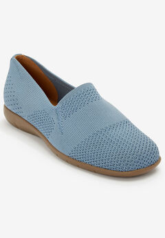 The Tessa Flat by Comfortview®, CHAMBRAY BLUE