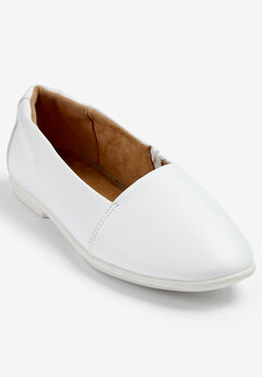 The Delphine Flat by Comfortview®, WHITE