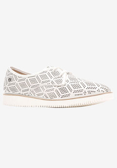 Chowchow Perf Lace Flats by Hush Puppies®,