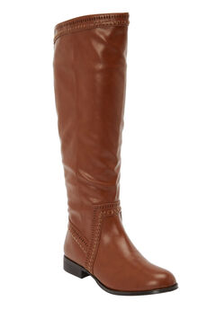The Malina Wide Calf Boot by Comfortview®,