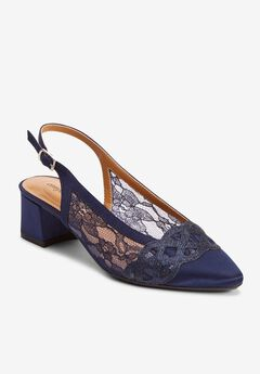 The Reina Slingback , NAVY