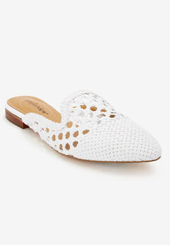 The Leah Mule by Comfortview®, WHITE