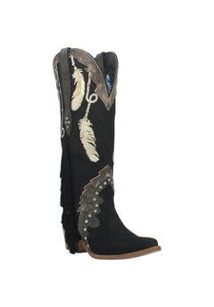 Dream Catcher Wide Calf Boots,