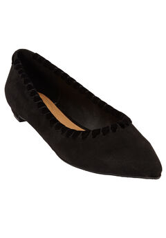 The Nellie Flat by Comfortview®, BLACK