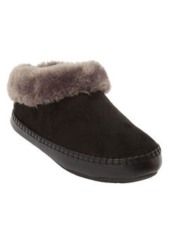 The Wynter Slipper by Comfortview®, BLACK