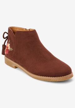 The Sienna Bootie , BROWN