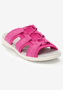 The Alivia Sandal by Comfortview®, VIVID PINK