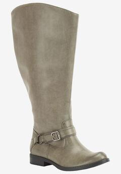 Quinn Plus Plus Wide Calf Boots by Easy Street®,