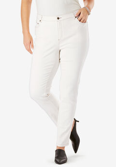Skinny Jean with Invisible Stretch® by Denim 24/7®, ECRU