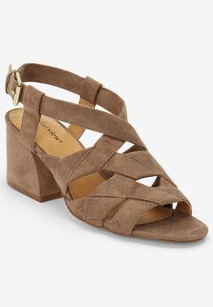 The Felipa Sandal by Comfortview®, DARK TAUPE