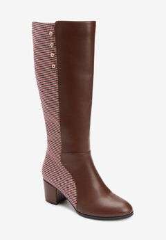 The Shay Wide Calf Boot By Comfortview®,
