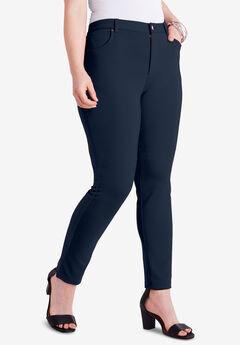 Skinny 5-Pocket Ultimate Ponte Pant, TRUE NAVY