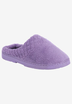 Micro Chenille Slipper Clogs by Muk Luks®,