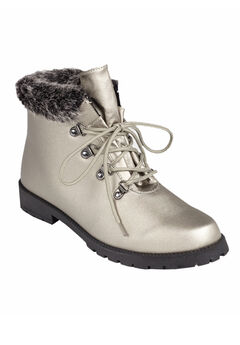 The Vylon Hiker All-Weather Bootie by Comfortview®, GUNMETAL