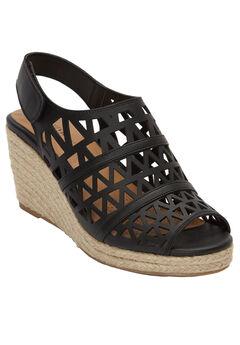 Karen Wedge Sandals by Comfortview®,