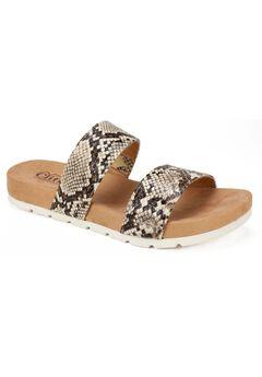 Tahlie Flat Sandals by Cliffs,