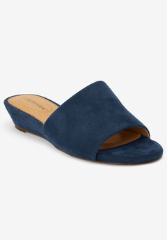 The Capri Mule by Comfortview®, NAVY