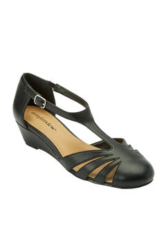 Zora T-strap Pump by Comfortview®,