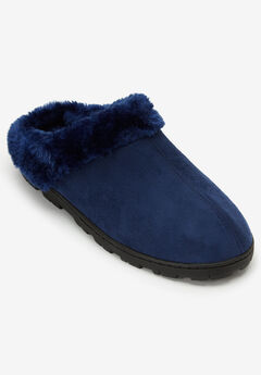 Andy Fur Clog Slipper by Comfortview®,