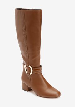 The Vale Wide Calf Boot by Comfortview,