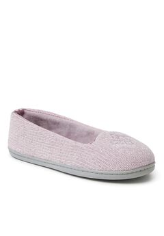 Rebecca Chenille Closed Back Slippers by Dearfoams,