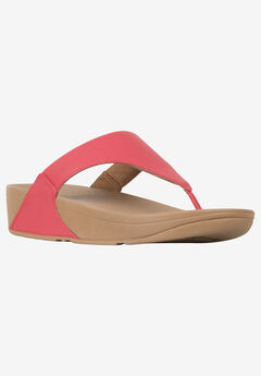 Lulu Leather Toe Post Sandal by FitFlop,
