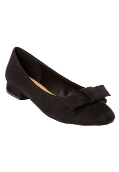 The Francine Pump by Comfortview®, BLACK