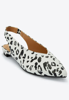 The April Flat by Comfortview®, BLACK WHITE ANIMAL