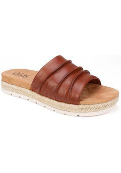 Torri Leather Sandal by Cliffs,