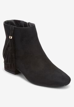 The Tegan Bootie , BLACK