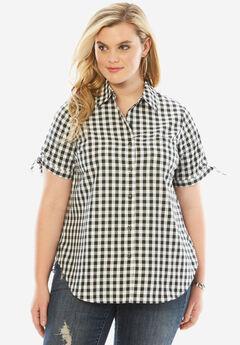 Tie-Sleeve Bigshirt,