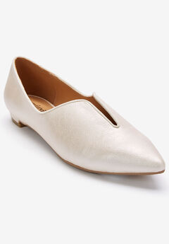 The Anya Flat by Comfortview®, PALE GOLD