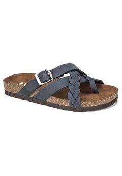 Harrington Leather Sandal by White Mountain,