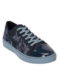 The Jayla Sneaker by Comfortview®, DENIM MULTI