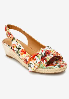 The Zanea Espadrille , ORANGE BLOSSOM