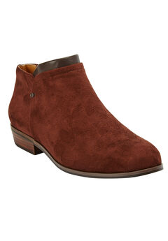 The Bexley Bootie by Comfortview®, BROWN