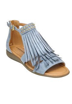 Carmella Sandals by Comfortview®, CHAMBRAY