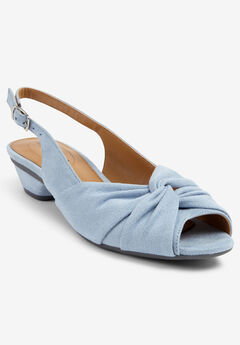The Debbi Slingback by Comfortview®, BLUE CLOUD