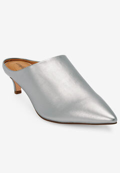 The Camden Mule by Comfortview®, SILVER