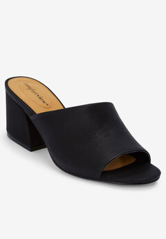 The Bailey Mule by Comfortview®, BLACK